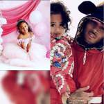 American Singer ,Chris Brown Shares Beautiful Photos of his daughter to celebrate her 5th birthday Today (Photos)