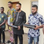 EFCC Arrests 8 Internet fraudsters in Lagos State (photos)