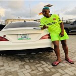 Zlatan Ibile Acquires New Mercedes Benz for himself (Photo)