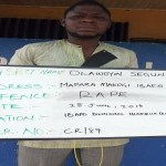 Man Arrested for defiling 16-year old (photo)