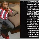 Naira Marley's Management Reacts to Reports About Surety Difficulty Rumour (Screenshot)