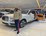 "Nigerian Big boy ""Mr Woodbery"" buys a $325k (N117m) 2019 Rolls Royce Cullinan (Video)"