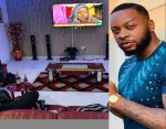 "BBnaija Star ""Teddy A"" Fire back at a fan Who Questioned his Ability to Take Care of Bam Bam Due to the State of his Sitting Room"