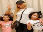 Regina Daniels shares beautiful Photos with her Stepchildren (Photos)