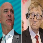 Amazon founder, Jeff Bezos reclaims world's richest man title, few hours After Losing to Bill Gates