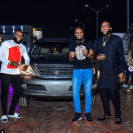 Nollywood Star, Junior Pope & his family Gets a Car gift from E-Money and Kcee (Photos)
