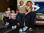Nollywood Actor Junior Pope Shares Lovely Family Photo To Celebrate the New Year