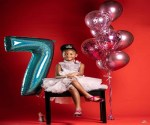 Nigerian Singer, Peter Okoye and Wife, Lola, Celebrates Daughter's Birthday, With lovely Photos