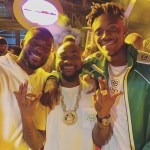 Chelsea Players of Nigeria descent, Tammy Abraham & Fikayo Tomori pictured hanging out with Davido in Dubai (photos)