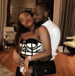 """"""" You're so Sexy ,I'm Getting You Pregnant Again"""" - Davido Praises Chioma In New Photo"""