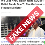 No Funds Were Lost in the Fire Outbreak at the Accountant General's Office – Ministry Of Finance, says