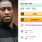 GoFundMe created for George Floyd has Received Nearly $13 Million