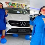 Bobrisky gifts himself a Mercedes Benz ahead of his birthday which is on August 31.(photos/video)