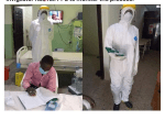COVID-19 Patient sits for WAEC Exam in Isolation Centre