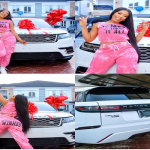 2019 BBNaija Winner, Mercy Eke gifts herself  Range Rover Velar for her 27th Birthday (Photos)