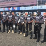 #EndSARS Protesters hire Private security to Protect them Against Hoodlums (Photos)