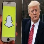 President Trump's Account Permanently banned on Snapchat