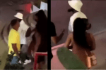 Davido Spotted Holding Hands With Rapper Young MA's Ex-Girlfriend In St. Maarten (Video)