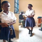 Secondary School Student caught with Gun she Planned to use in shooting her teacher who asked her to cut her dyed hair
