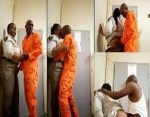 Female Prison Warder was Caught having Sex with a Male Inmate in a Prison in South Africa