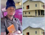 Nigerian Instagram comedian, Zicsloma acquires a New House, weeks after buying Benz (Photos)