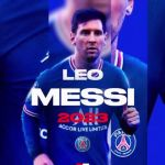Lionel Messi joins Paris Saint-Germain on a two-year contract (Photos)