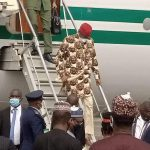 President Buhari arrives Imo state, Commissions Projects (Photos/Video)