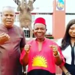 Nigerian actor, Chiwetalu Agu released one day after he was arrested for wearing an outfit made with Biafran flag