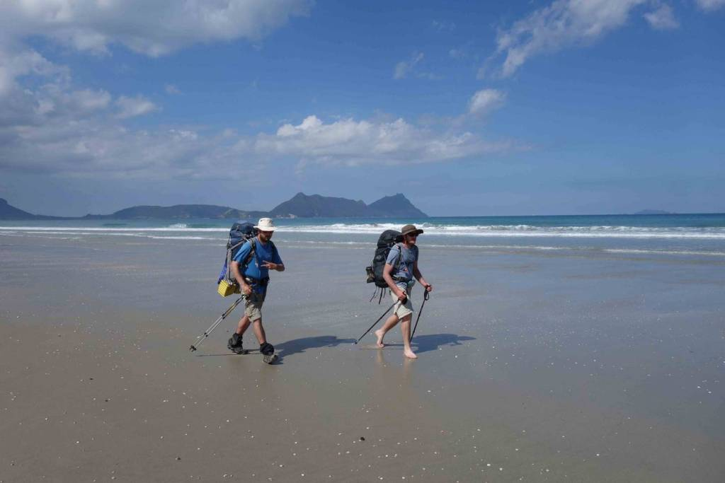 Te Araroa trail takes hikers the length of the country, from remote beaches in the North, to back country tracks in the South. Photo / Laura Waters