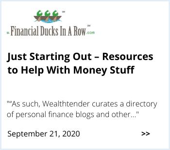 Financial Ducks in a Row Wealthtender Feature
