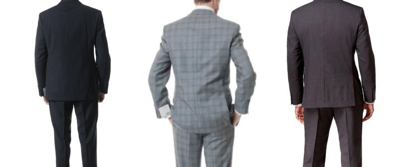 カルバンクライン(calvin klein)のスーツを着用する外国人の男性