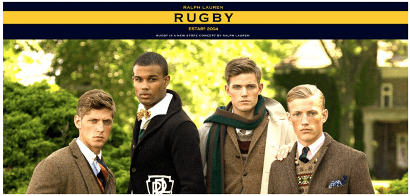 ラルフローレンのラグビー(Rugby)ライン