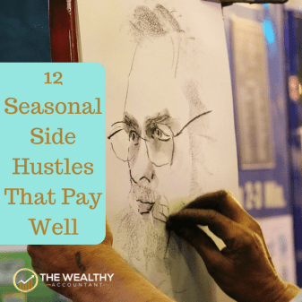 Retirement is earlier than ever with these 12 part-time seasonal jobs with high pay. The perfect side hustle mixes vacation travel with income producing hobbies.  #wealthyaccountant #hobby #sidehustle #earlyretirement #retirement #travel #vacation