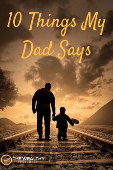 Wisdom my father shared with me. #wisdom #dad #family #familyfinance