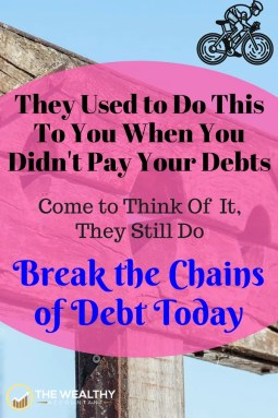 Debt is harsh taskmaster. End the stress of student loans, credit card debt and mortgages. Break the chains of debt. Live debt-free. #daveramsey #debtproblems #stress #studentloans #creditcarddebt