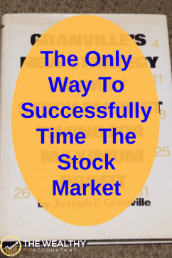 When is the best time to sell the stock market? Selling an investment is just as important as how you buy the investment. And where do you put the money once you sell? #wealthyaccountant #investing #indexfunds #retirement #selling #money #cash