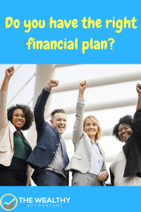 Do you have the right financial plan? The right investment adviser can help you create, set up and implement the appropriate investment strategy for success and then work with you to stay the course.