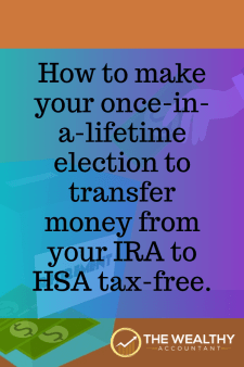 There is a little-known tax strategy that allows you to transfer money from your traditional IRA to an HSA tax-free and penalty-free. Learn how this tax strategy affects you.