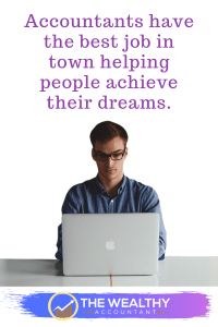 The best job in town is helping people reach their goals and dreams. Accountants do that every day! Join the team. Make a difference. #accountant #taxpreparer #professional #accounting #job