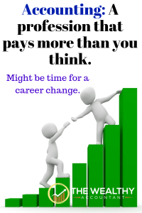 Accounting: A profession that pays more than you think. Might be time for a career change. Be a mover, a doer, a shaker: be an accountant. The career for the best people. #accountant #accounting #money #clients #career #jobs