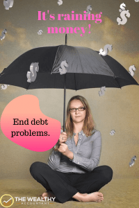 End debt problems with this giveaway. It's raining money! Check if you qualify. No signing up. If you make the list your debt is automatically deleted. #debt #bills #collectors #billcollector  #deardebt #debtdrop #olddebt