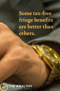 Get the most out of your tax-free fringe benefits as a small business owner. #fringebenefits #businessowner #smallbusiness #employeeawards #watch #ICHRA #QSEHRA