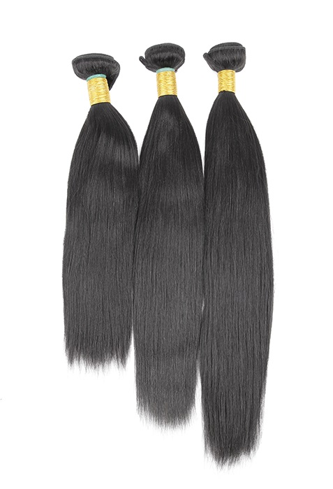 Bundle Deals 3 Pack Virgin Remy Relaxed Yaki Straight Hair