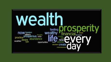 abundance prosperity wealth