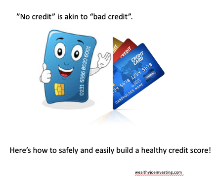 Wealthy Joe Basics: How To Build Credit!