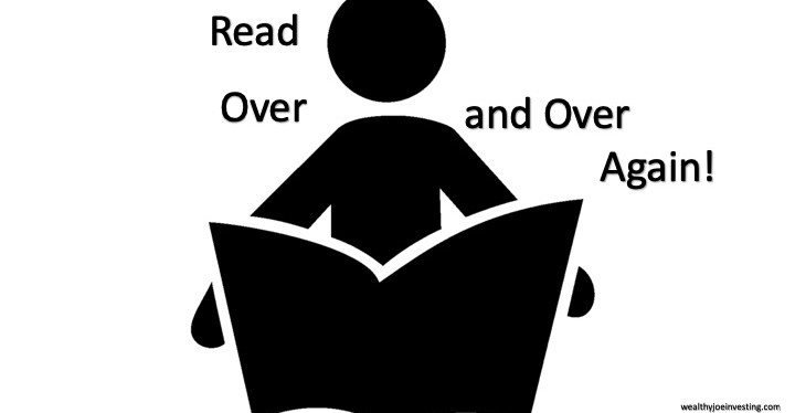 Read Over And Over Again!