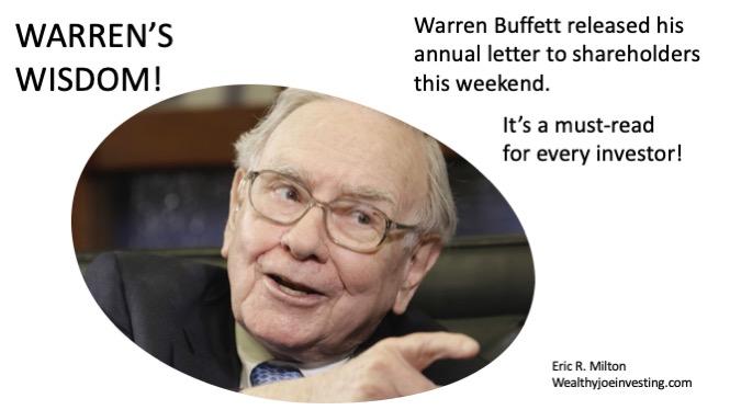 Warren's Wisdom!