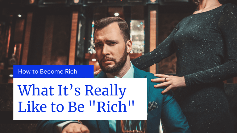 A Businessperson Discussing What It's Really Like to Be Rich