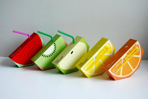 Jooze Fruit Juices Package Design by Yunyeen Yong