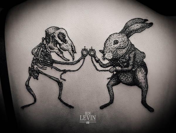 Illustrative Tattoo Designs By Ien Levin